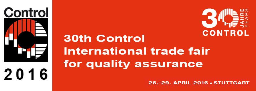 Control International 2016 Stuttgart Banner
