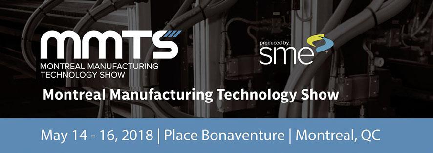 3D Infotech present at the Montréal Manufacturing Technology Show