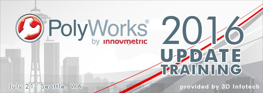 PolyWorks 2016 Update Training Seattle Banner