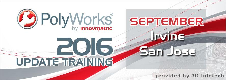 PolyWorks 2016 Update Training Banner