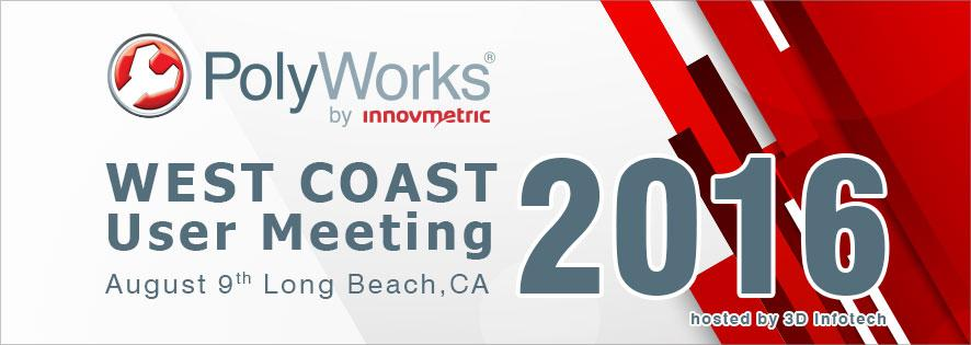 PolyWorks 2016 West Coast User Meeting Banner