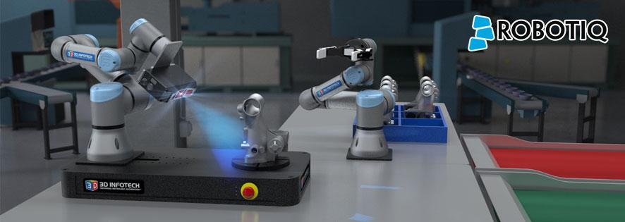 Robotiq: Robot Metrology with 3D Infotech Banner
