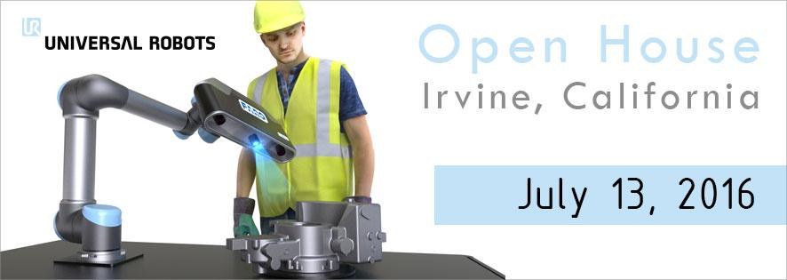 Universal Robots: Open House Event  Banner