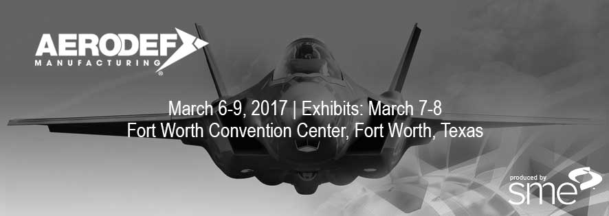AeroDef Exhibit 2017 Banner