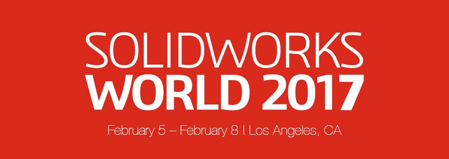 SolidWorks World 2017 Banner