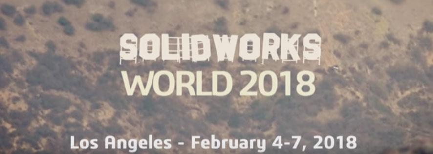 SolidWorks World 2018 Banner