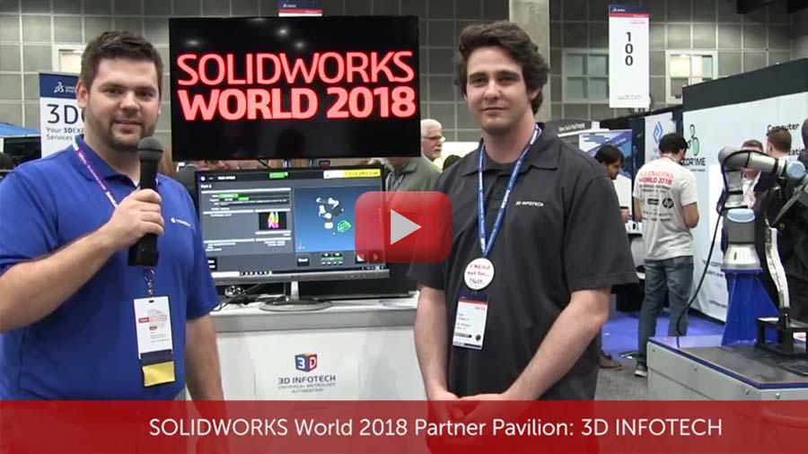 SOLIDWORKS WORLD 2018 Partner Pavilion: 3D INFOTECH