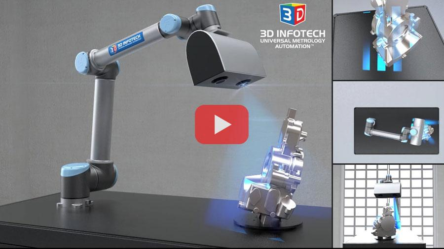 3D Infotech High Precision Non-Contact Automated Inspection
